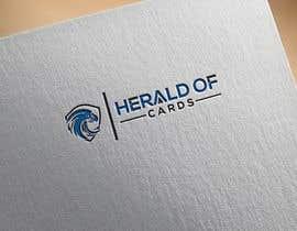 #794 para Online Store Logo - Herald of Cards por NASIMABEGOM673