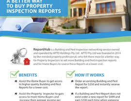 nº 37 pour Design a Flyer for our business www.ReportHub.com.au par prisampath