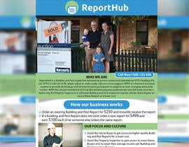 nº 43 pour Design a Flyer for our business www.ReportHub.com.au par mamun313