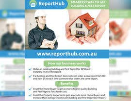 nº 62 pour Design a Flyer for our business www.ReportHub.com.au par mamun313