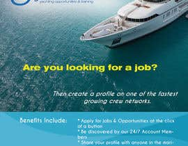 #6 untuk Design a Flyer for Yotspot (a superyacht recruitment company) oleh woworks