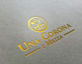 #54 for Disegnare un Logo for Una corona e mezza (home restaurant) af eddesignswork