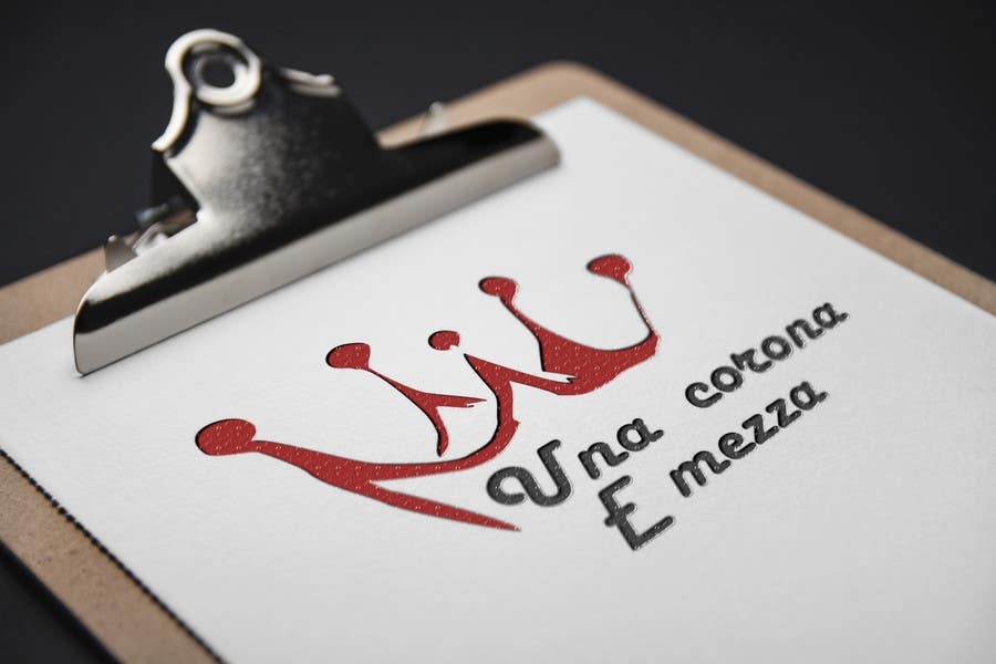 Contest Entry #                                        15                                      for                                         Disegnare un Logo for Una corona e mezza (home restaurant)