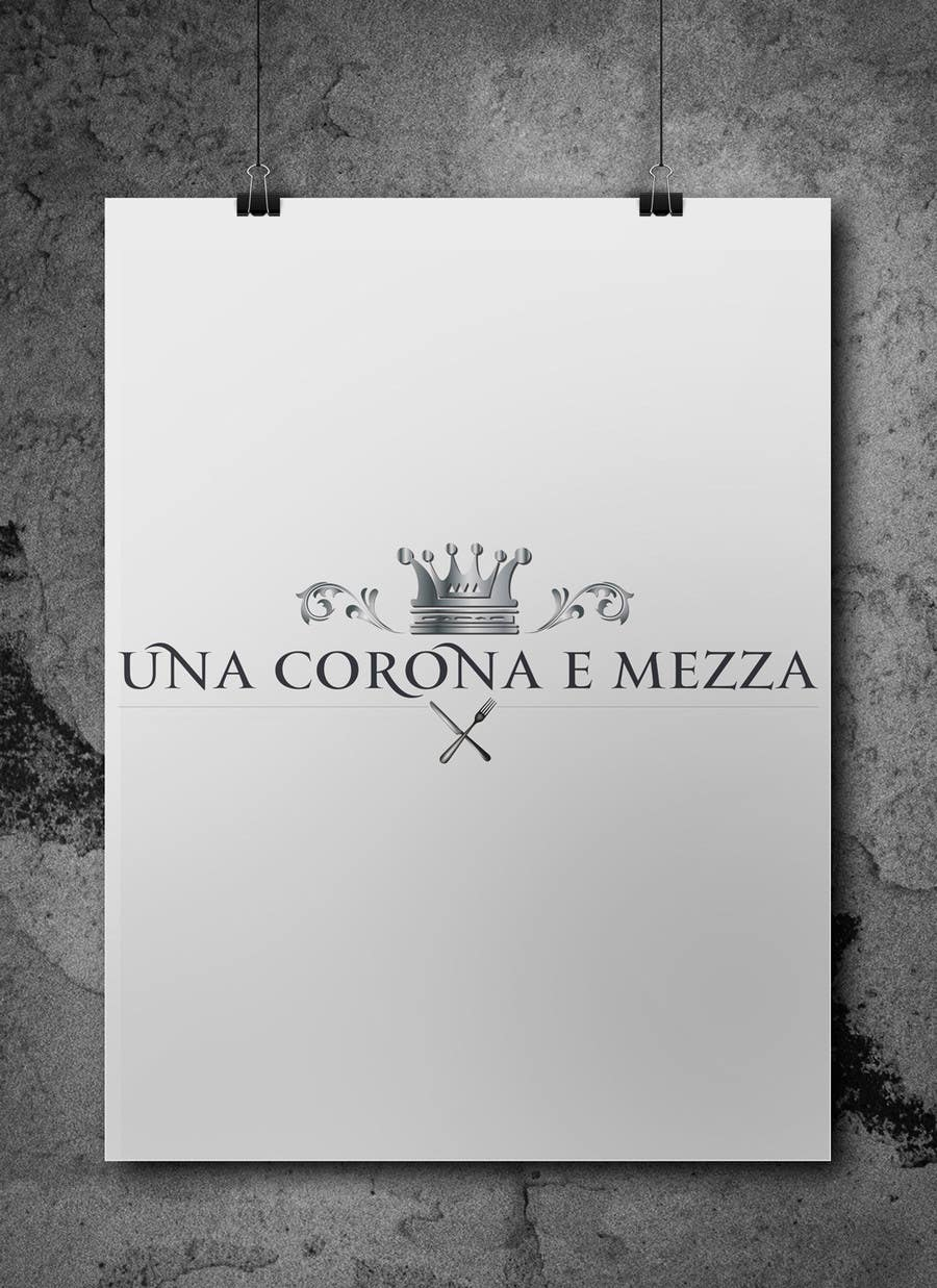 Contest Entry #                                        21                                      for                                         Disegnare un Logo for Una corona e mezza (home restaurant)