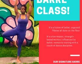 #18 for A4 POSTER FOR BARRE CLASS by nurnabilah99