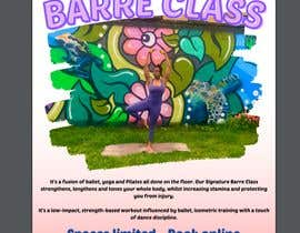 #19 for A4 POSTER FOR BARRE CLASS by mervec749
