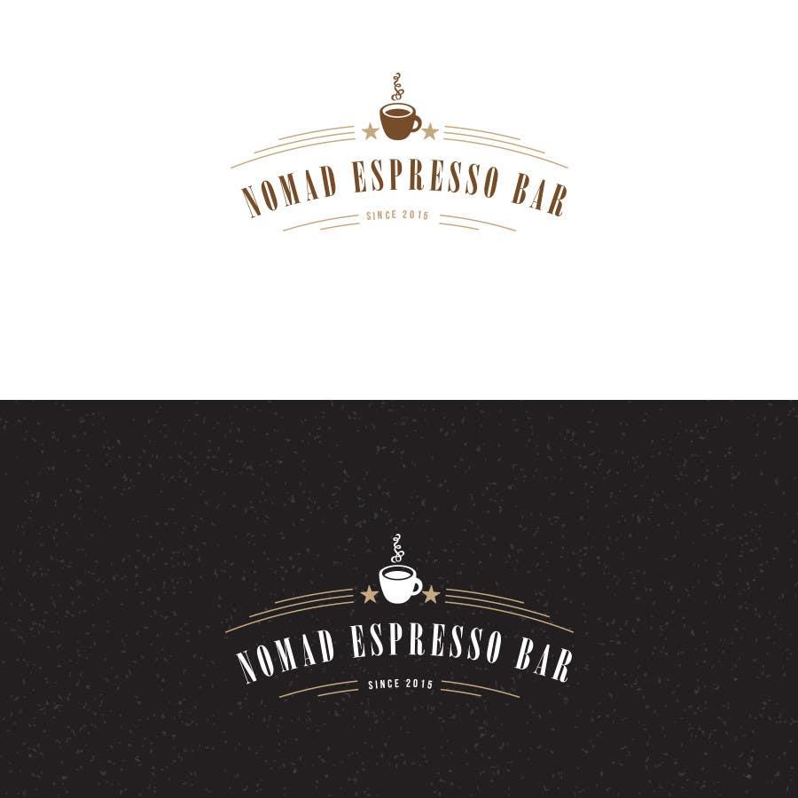 Penyertaan Peraduan #56 untuk Design a Logo for an espresso bar