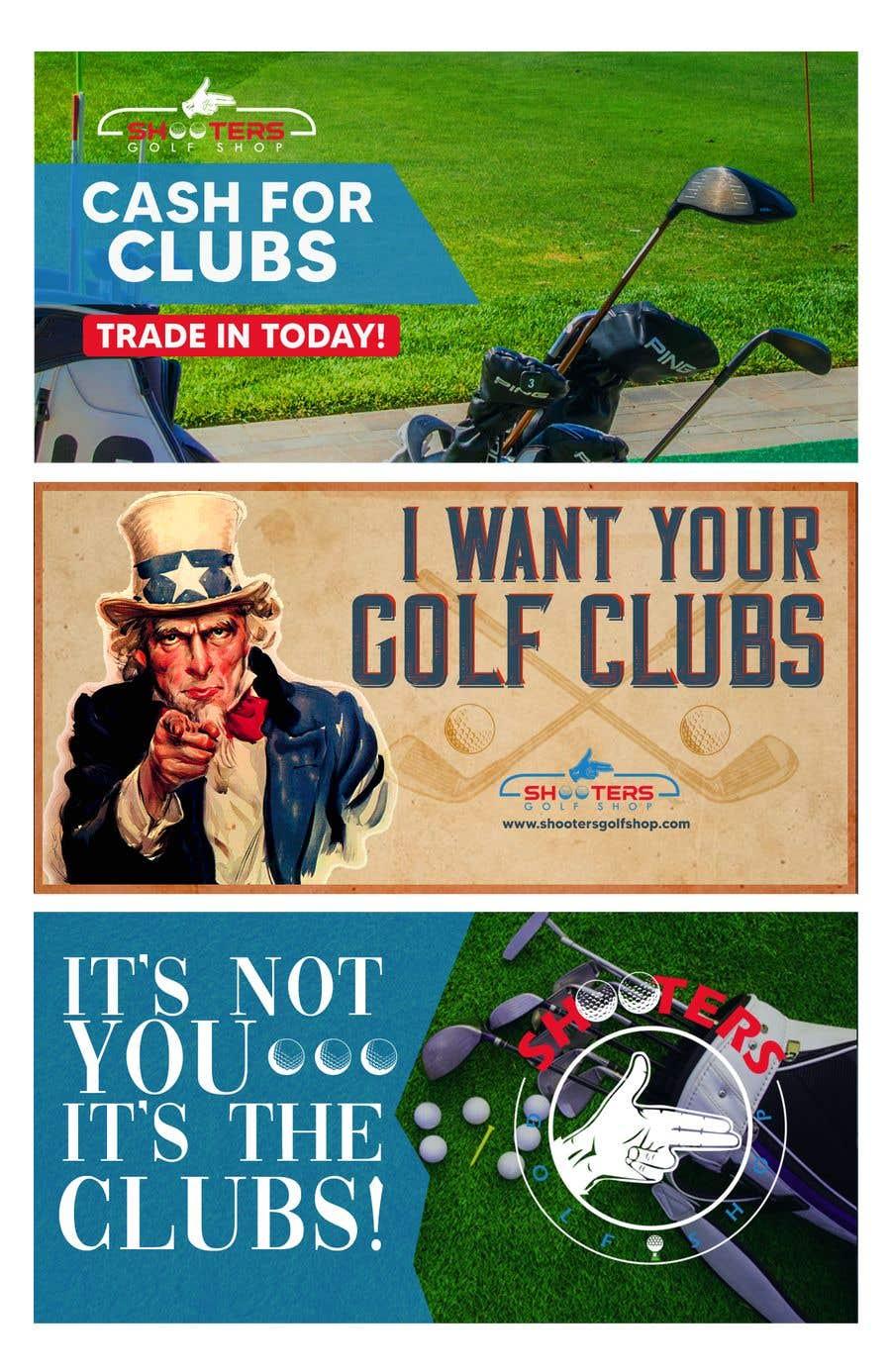 Kilpailutyö #                                        17                                      kilpailussa                                         Golf Shop Advertising Pictures / Designs