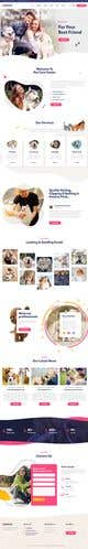Kilpailutyön #                                                2                                              pienoiskuva kilpailussa                                                 Create a website mockup for a business that offers pet health certificates