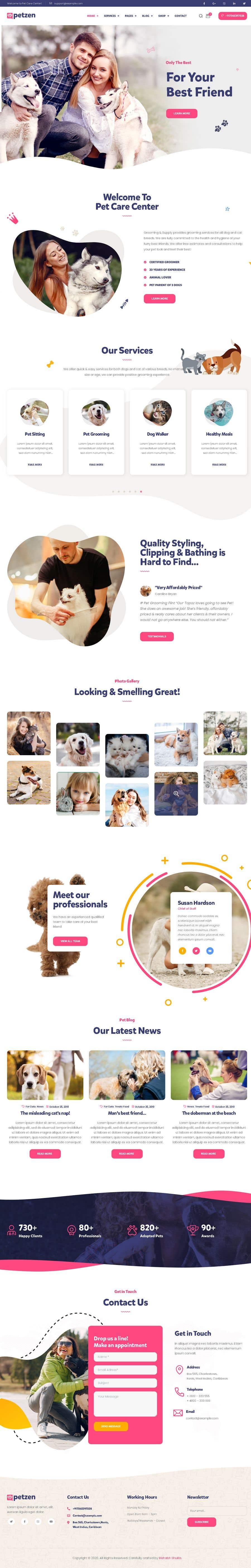 Kilpailutyö #                                        2                                      kilpailussa                                         Create a website mockup for a business that offers pet health certificates