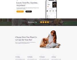 Nro 5 kilpailuun Create a website mockup for a business that offers pet health certificates käyttäjältä mnislamsaju2