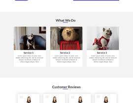 Nro 16 kilpailuun Create a website mockup for a business that offers pet health certificates käyttäjältä developerhafizur