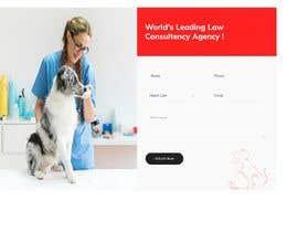 Nro 12 kilpailuun Create a website mockup for a business that offers pet health certificates käyttäjältä AnwareWebTrust