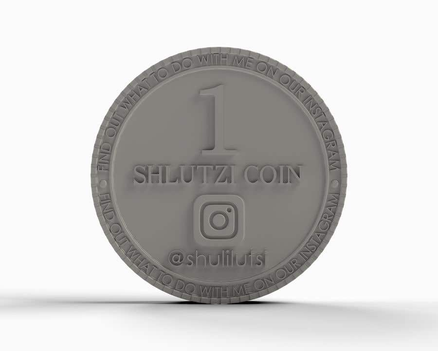 Contest Entry #                                        18                                      for                                         Design a 3D coin for me to 3D print