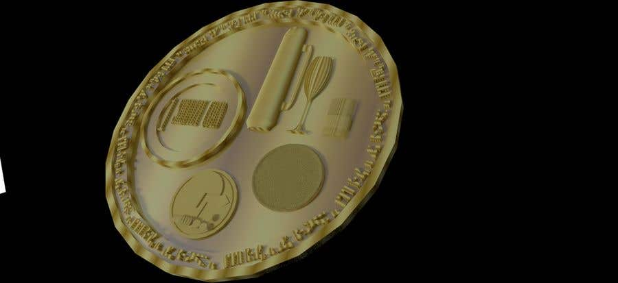 Contest Entry #                                        11                                      for                                         Design a 3D coin for me to 3D print