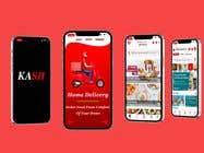 Grocery & Food App design için Graphic Design149 No.lu Yarışma Girdisi