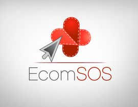 #80 para Logo for EcomSOS.com por candydesigns99