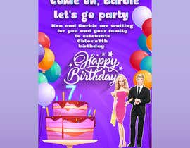 #29 for Child brithday party invitation by SamehRefaat