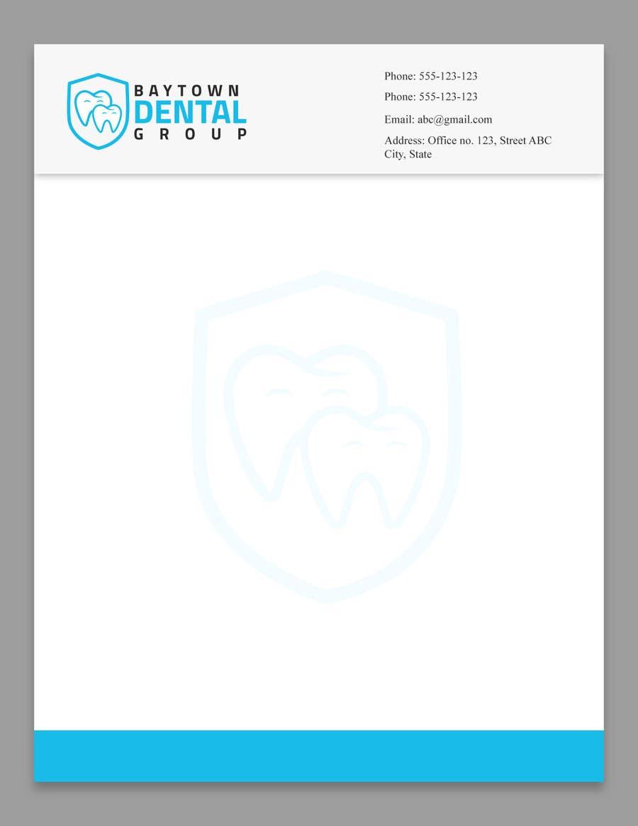 Konkurrenceindlæg #19 for Logo and Stationary Baytown Dental Group