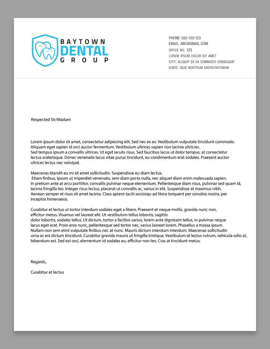 Konkurrenceindlæg #20 for Logo and Stationary Baytown Dental Group