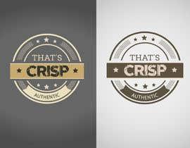 #92 untuk Design a Logo for That's Crisp oleh jaiko