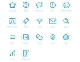 #5 for Icon Set Needed in Illustrator for a project based in 2045 by Piraruka