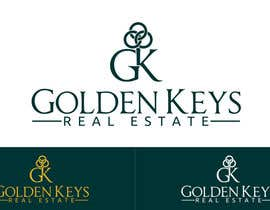 #28 for Design a Logo for Golden Keys Inc. by cbarberiu