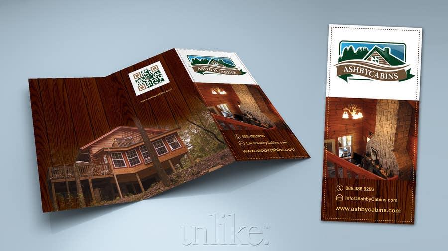 Penyertaan Peraduan #8 untuk Design a Brochure for Ashby Cabins