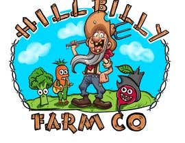 #62 for 'HillBilly Farm Co' logo design by kalerproduction