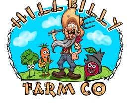 #64 for 'HillBilly Farm Co' logo design by kalerproduction