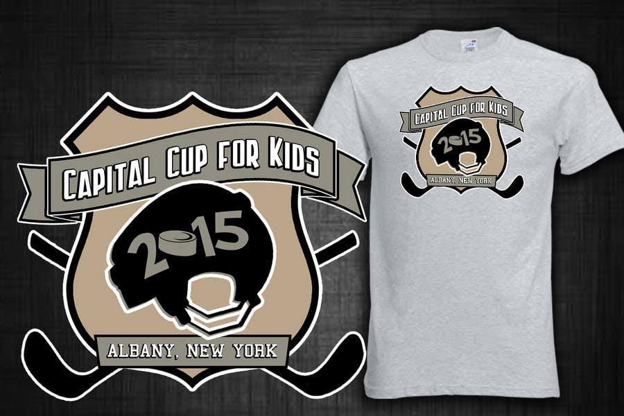 Konkurrenceindlæg #                                        32                                      for                                         Design a T-Shirt for a hockey tournament