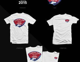 duongdv tarafından Design a T-Shirt for a hockey tournament için no 7