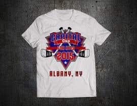 #24 untuk Design a T-Shirt for a hockey tournament oleh lasbascstore