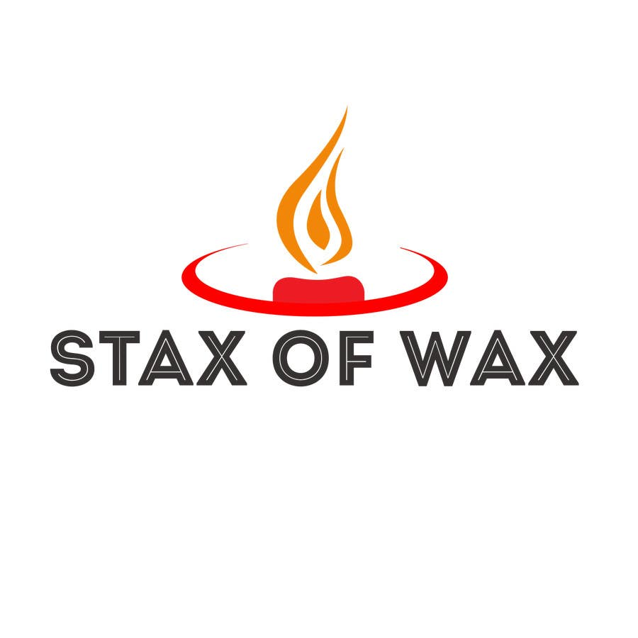 Konkurrenceindlæg #                                        1                                      for                                         Design a Logo for Stax of Wax candle making company