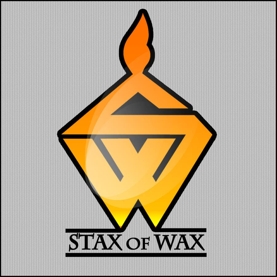 Konkurrenceindlæg #                                        35                                      for                                         Design a Logo for Stax of Wax candle making company