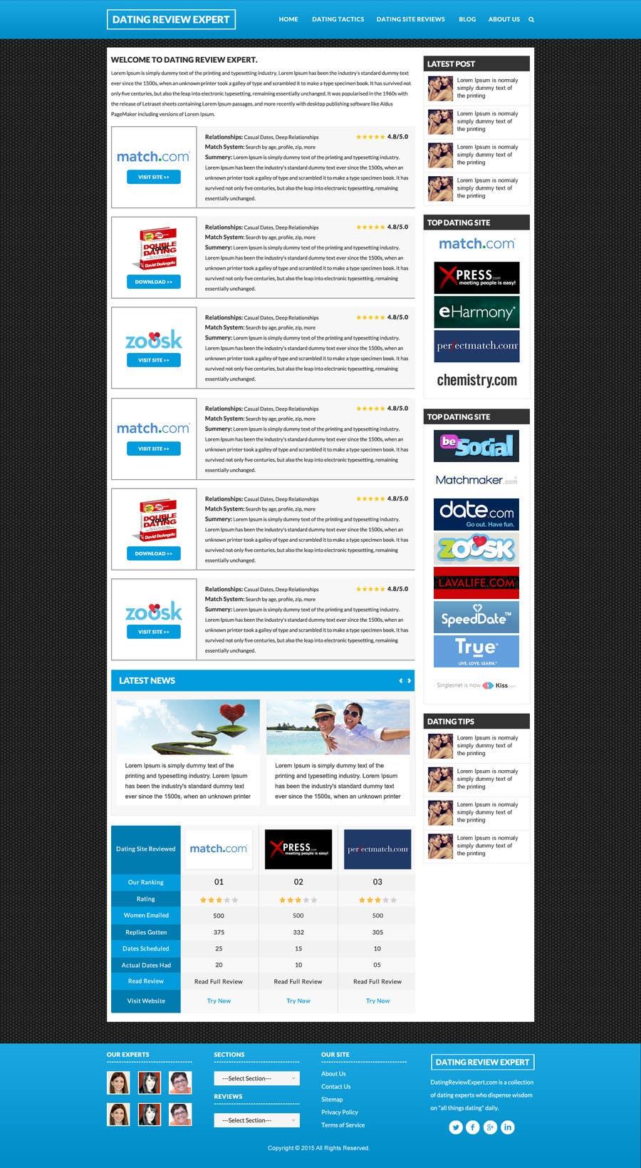 Konkurrenceindlæg #                                        15                                      for                                         Design a Dating Review Website