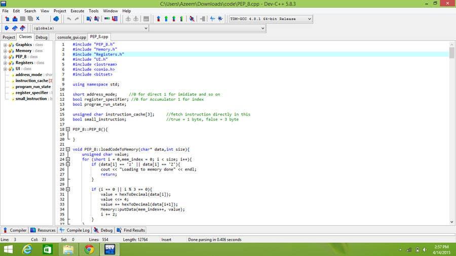 Konkurrenceindlæg #                                        2                                      for                                         Looking for C++ programmer
