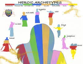 #4 untuk Infographic of Heroic Archetypes & explanation oleh giacomonegroni