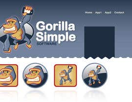 #25 untuk Graphic Design for Gorilla Simple Software, LLC oleh taks0not