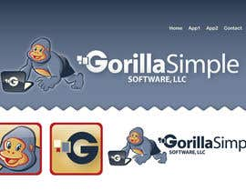 #44 para Graphic Design for Gorilla Simple Software, LLC de taks0not