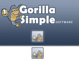 #66 untuk Graphic Design for Gorilla Simple Software, LLC oleh lucad86