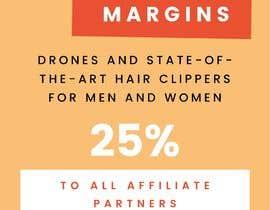 Nro 26 kilpailuun Make up to 35% profit once you reach 10th items sold. Payout for each item sold is 25% käyttäjältä Hazimahtun