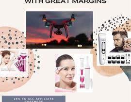 Nro 17 kilpailuun Make up to 35% profit once you reach 10th items sold. Payout for each item sold is 25% käyttäjältä NurAmaliaZol