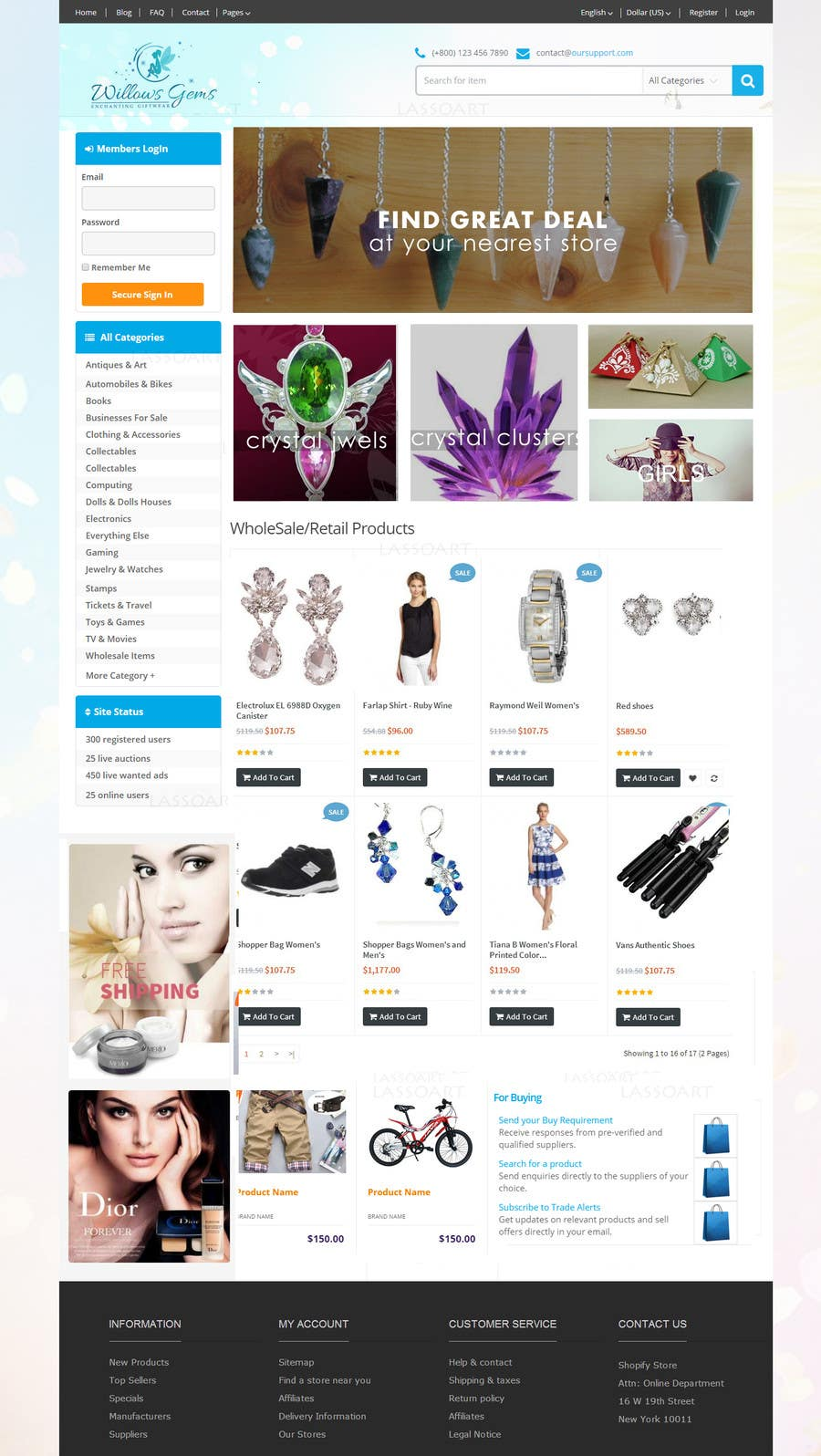 Konkurrenceindlæg #                                        13                                      for                                         Design a Ebay Store & Listing Template