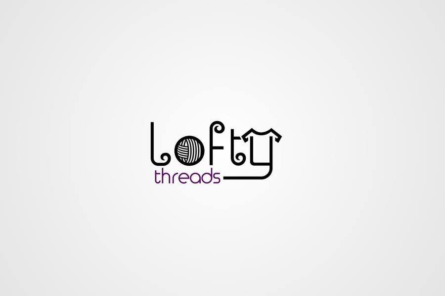Konkurrenceindlæg #                                        97                                      for                                         Design a Logo for Lofty Threads