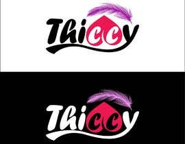 "abdsigns tarafından design clothing brand logo  the name is ""thiccy"" için no 337"