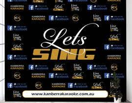 #26 for KANBERRA KARAOKE MEDIA WALL by zahid4u143