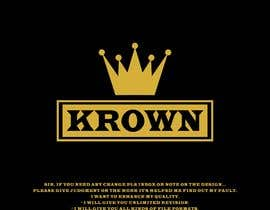 #206 for Design a logo for KROWN, a kitchen supply company that gives profits to low income communities af istakharahmed02