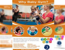 #29 para Baby Gym Program Marketing Material por stylishwork