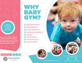 #42 para Baby Gym Program Marketing Material por rimskik